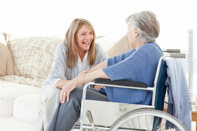 Entspannung für Pflegende