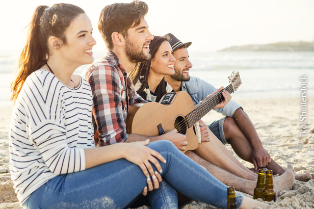 Auf der Ferienfreizeit treffen Jugendliche mit Diabetes Typ 1 auf Gleichgesinnte.