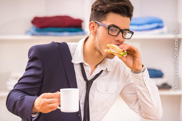 Gesund ernähren am Arbeitsplatz