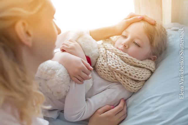Kindern Arznei geben