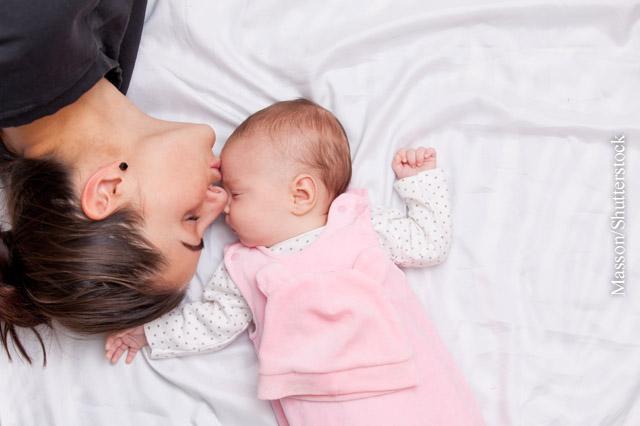 Lippenherpes bei Säuglingen