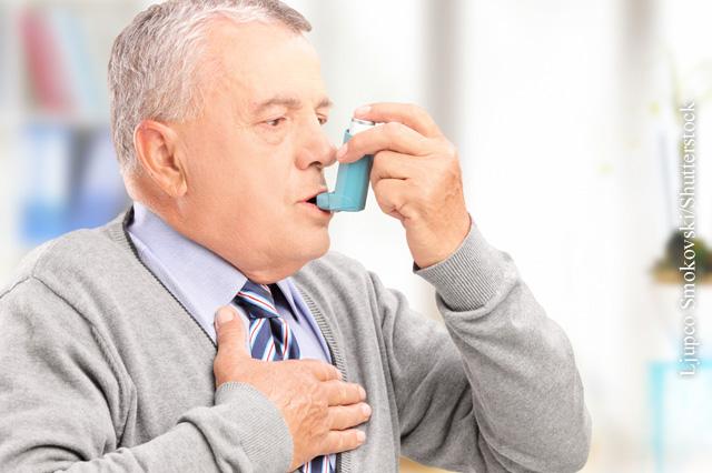 Richtig Inhalieren bei Asthma