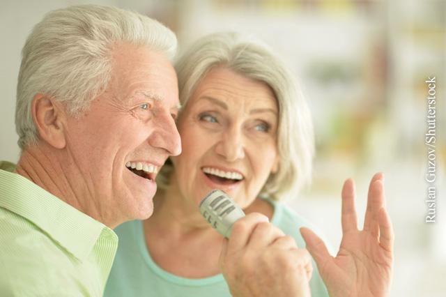 Singen kann COPD-Patienten helfen