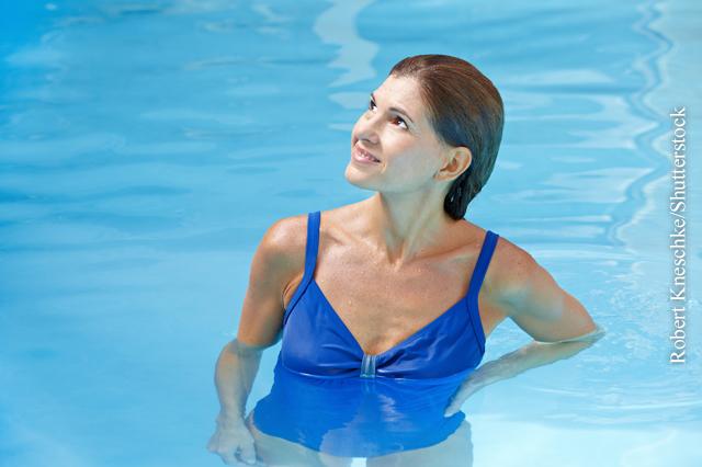 Wasserspaß mit Aqua-Fitness