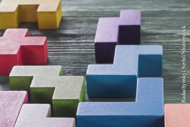 Tetris gegen Traumata