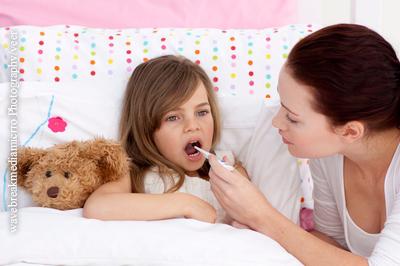Geschwollene Lymphknoten bei Kids