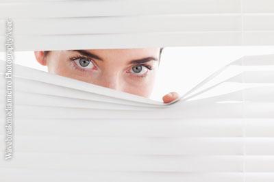 Herpes-Infektion im Auge