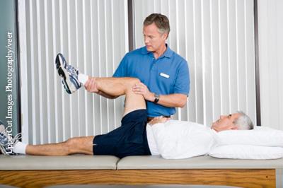 Injektionen gegen Kniearthrose