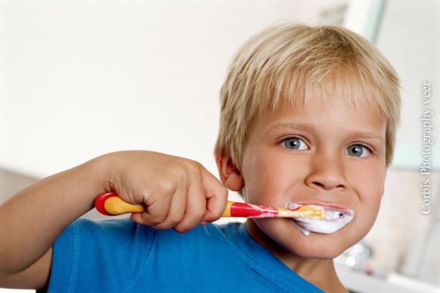 Löcher in den Zähnen